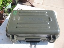 GENUINE US ARMY STARLIGHT 061016 HARD PELICAN TYPE CASE in Clarksville, Tennessee