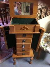 Jewelry box onLegs open top and sides in The Woodlands, Texas