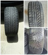 3 different sets of tires 912-242-4303 in Hinesville, Georgia