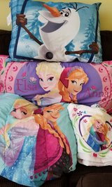 Frozen Twin Comforter, Sheets, 2 Pillows in Spring, Texas