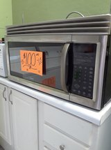 Stainless Steel Over the Range Microwave in Wilmington, North Carolina