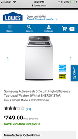 Brand new washer in Glendale Heights, Illinois