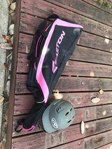 youth baseball bag and helmet in Houston, Texas