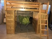 Twin Size Loft Bed in Plainfield, Illinois