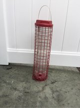 "19"" Red Bird Feeder in Naperville, Illinois"
