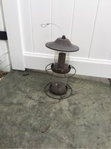 "16"" Two-Tiered Bronze Bird-Feeder in Naperville, Illinois"