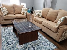 Newly Custom made Sofa & Loveseat w/Coffee table & Rugs in DeRidder, Louisiana