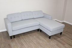 Light Blue Sectional in pristine condition! in Spring, Texas