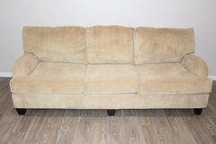 Corduroy Sofa/ couch Mustard yellow excellent condition! in Spring, Texas