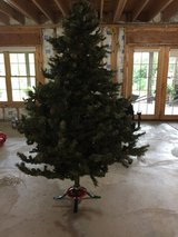 7 ft green Christmas tree in Aurora, Illinois