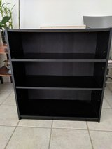 Black bookshelf in Camp Pendleton, California