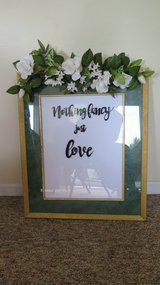 Wedding Welcome Sign in Bartlett, Illinois