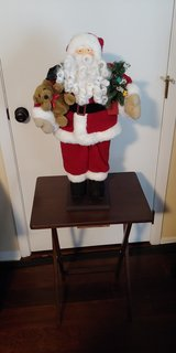 Christmas in July - Santa standy uppy thing in Batavia, Illinois