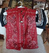 Vintage Cheyenne Outfitter's Vest with Silver Buttons in Ruidoso, New Mexico