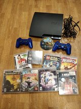 PS3 CONSOLE 250GB WITH GAMES in Stuttgart, GE