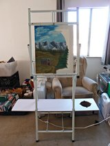 Bob Ross 2 In 1 Studio Easel Plus Desk/Table Easel for Smaller Canvasses in Yucca Valley, California
