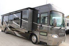 2008 Gulf Stream Crescendo 40K diesel pusher Class A RV 21,900 miles in Yorkville, Illinois