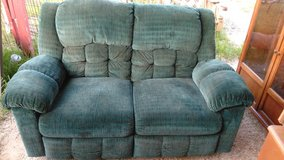 Loveseat with Recliners in DeRidder, Louisiana