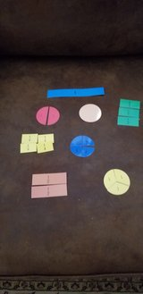 Fraction pieces manipulatives 24 bags in Fort Campbell, Kentucky
