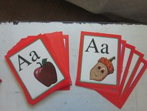 Abeka set of Alphabet flashcards in Camp Lejeune, North Carolina