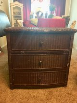 Large Antique Wicker Chest of Drawers in Kingwood, Texas