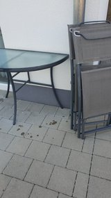 Patio table&chairs in Ramstein, Germany