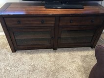 Moving sale! Pottery Barn Benchwright Large   Tv stand in Wheaton, Illinois