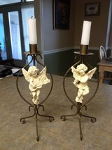 Cherub angel candle holders in Fort Benning, Georgia