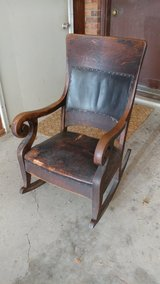 Antique Rocker with leather pad in Fort Knox, Kentucky