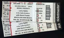 LARRY GATLIN/BROS WITH KEVIN FOWLER TICKETS - 2 in Fort Bliss, Texas