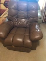 Brown recliner in Chicago, Illinois