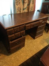 "Nice desk 9 draws 24"" deep 53"" long 30"" tall in Conroe, Texas"
