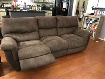 2 Reclining Brown Sofas in The Woodlands, Texas