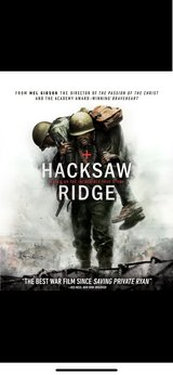 Hacksaw Ridge Digital Download Code in Camp Pendleton, California