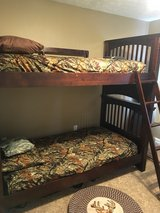 Bunk beds with mattresses in Fort Knox, Kentucky