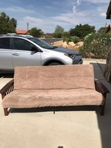 Futon couch in Yucca Valley, California
