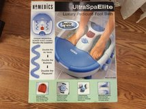 Homedics spa elite foot bath with massager in Byron, Georgia