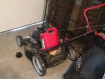 Lawn Mower with Gas Can in Camp Lejeune, North Carolina
