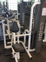 Gym back row weights machine in Camp Pendleton, California