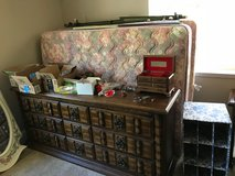 Solid Wood, 9 Drawer Low Boy Dresser w/ 2 Framed (detachable) Mirrors in Vacaville, California