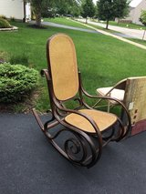 Thonet-style bentwood rocking chair in Joliet, Illinois
