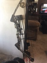 Bear youth compound bow in Ruidoso, New Mexico