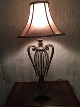 Glass lamp in Westmont, Illinois