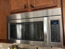 Whirlpool 2.0 cu. ft. over-the-range microwave oven in Warner Robins, Georgia