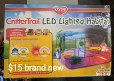 Habitrail LED lighted small animal home. in Fairfield, California