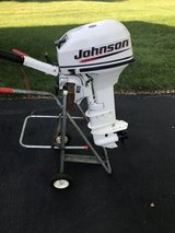 Johnson 9.9 outboard motor in Lockport, Illinois