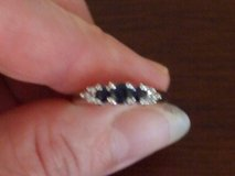 Sapphire and diamond ring in Algonquin, Illinois