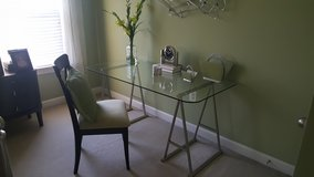 Glass top table or desk in Quantico, Virginia