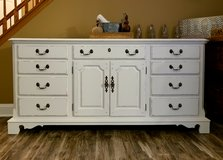 Large 12 drawer dresser/ console in Lockport, Illinois