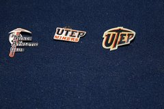 Vintage UTEP Miner Pins All Three one money in Alamogordo, New Mexico